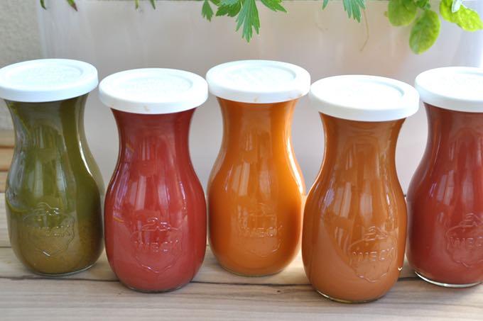 przechowywanie soków