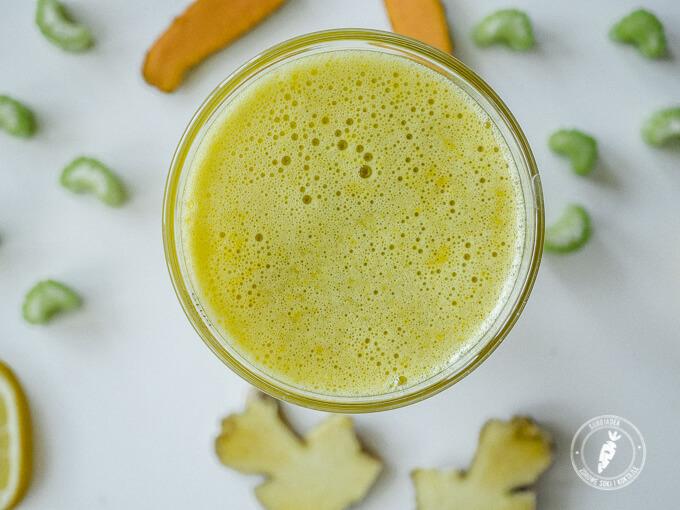 pomysł na zdrowy sok wspierający naturalne odchudzanie i trawienie