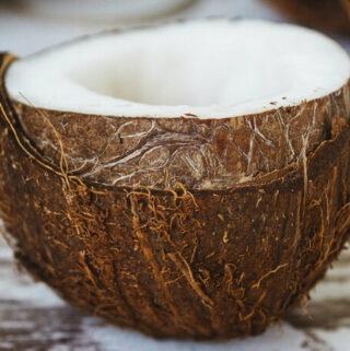 uprawiająca moc kokosa