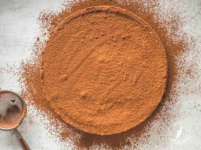 tiramisu z naturalnych składników, bomba zdrowej energii