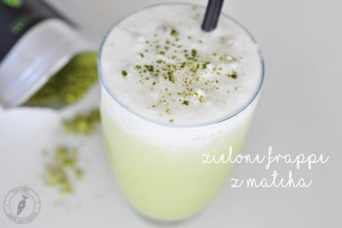 Zielona herbata matcha frappe – lepsza niż kawa !